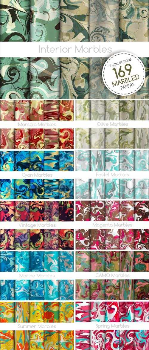 The BIGGEST Marbled Paper Collection - 2338019
