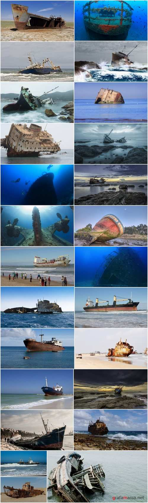 Wreck shipwreck rusty metal remains of sea boat 25 HQ Jpeg