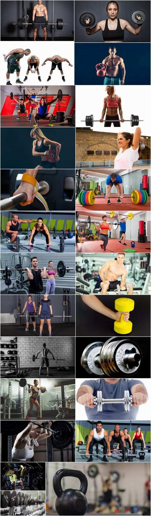 Sports fitness training gym sports equipment dumbbell barbell exerciser 25 HQ Jpeg