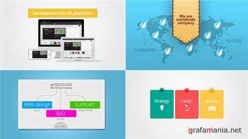 Web Studio Promo - After Effects Project (Videohive)