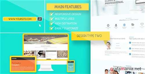 Website Presentation Pack 8935398 - After Effects Project (Videohive)