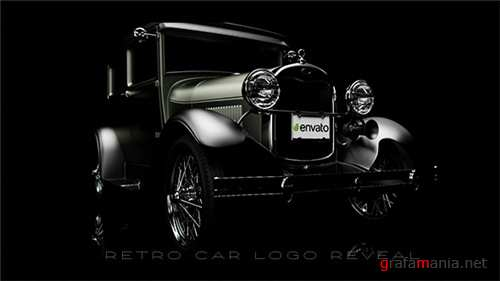 Retro Car Logo Reveal - After Effects Project (Videohive)