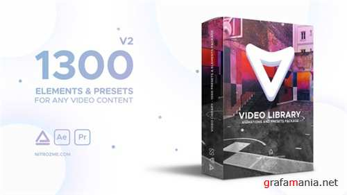 Video Library - Video Presets Package - After Effects Project (Videohive)