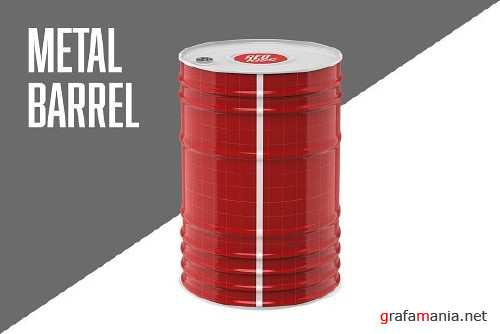 Metal Barrel 2389968