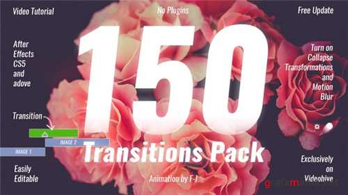 Transitions Pack 19918260 - After Effects Project (Videohive)