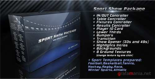 Sport Show Package - After Effects Project (Videohive)