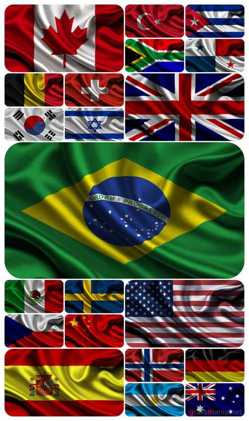 Wallpapers - 77 Flags of the World
