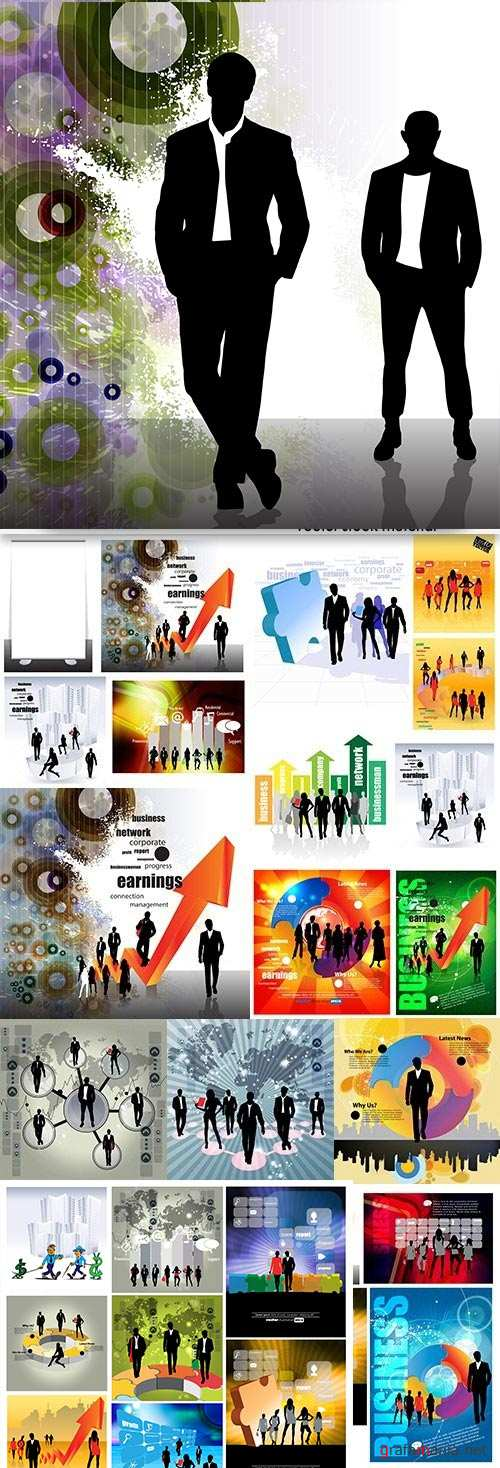 Business group people team work concept design
