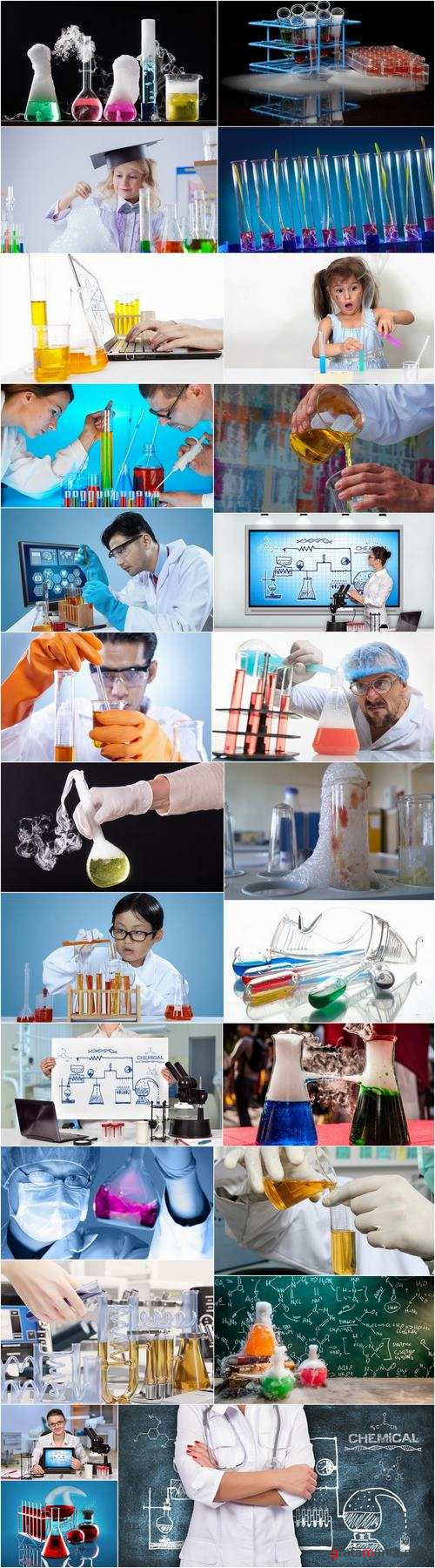 Chemist chemical reaction laboratory glassware chemical reagent 25 HQ Jpeg
