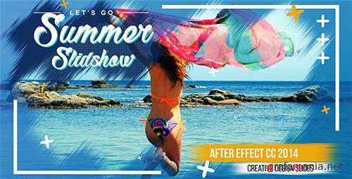 Summer Slideshow 20846293 - After Effects Project (Videohive)