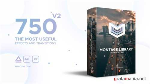 Montage Library - Most Useful Effects - After Effects Project (Videohive)