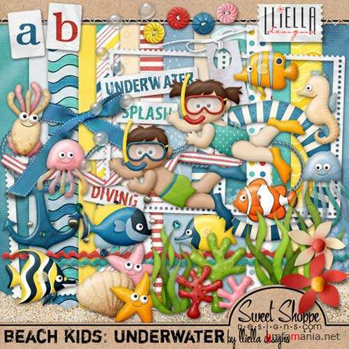 Scrap - Beach Kids: Underwater