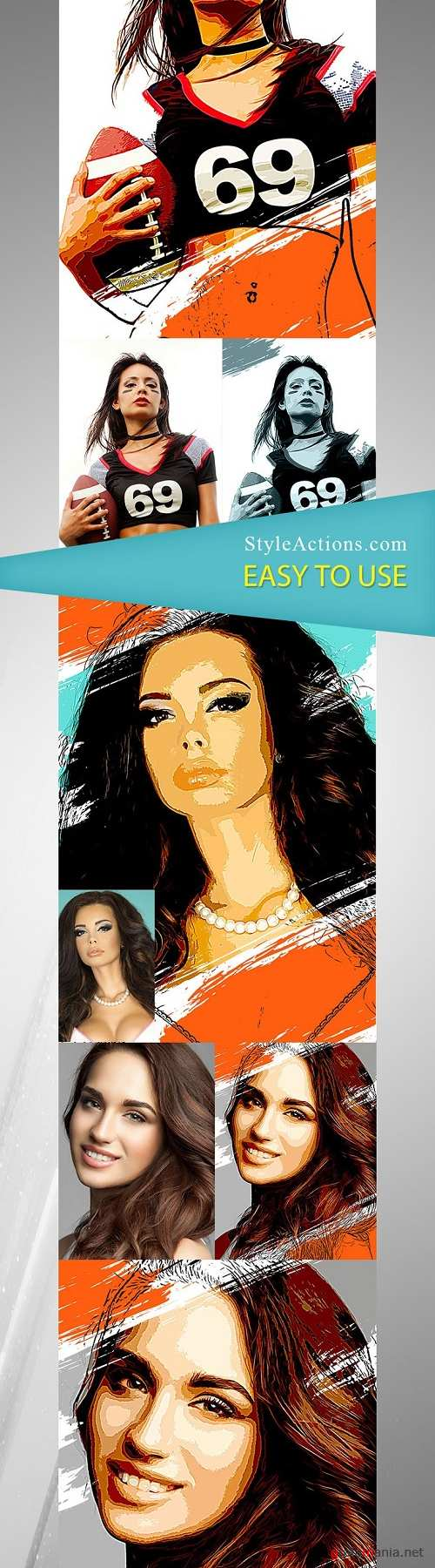 StyleActions - Vector Style Photoshop Action
