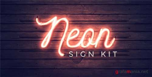 Neon Sign Kit 11928076 - After Effects Project (Videohive)