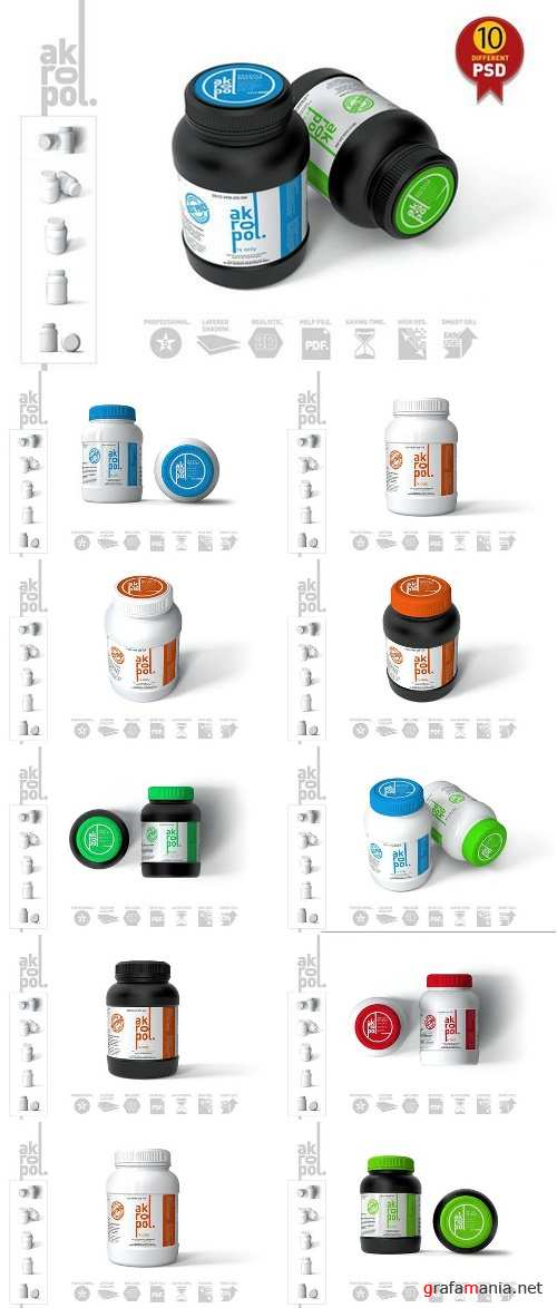 Pill Bottle Mock up 2430549