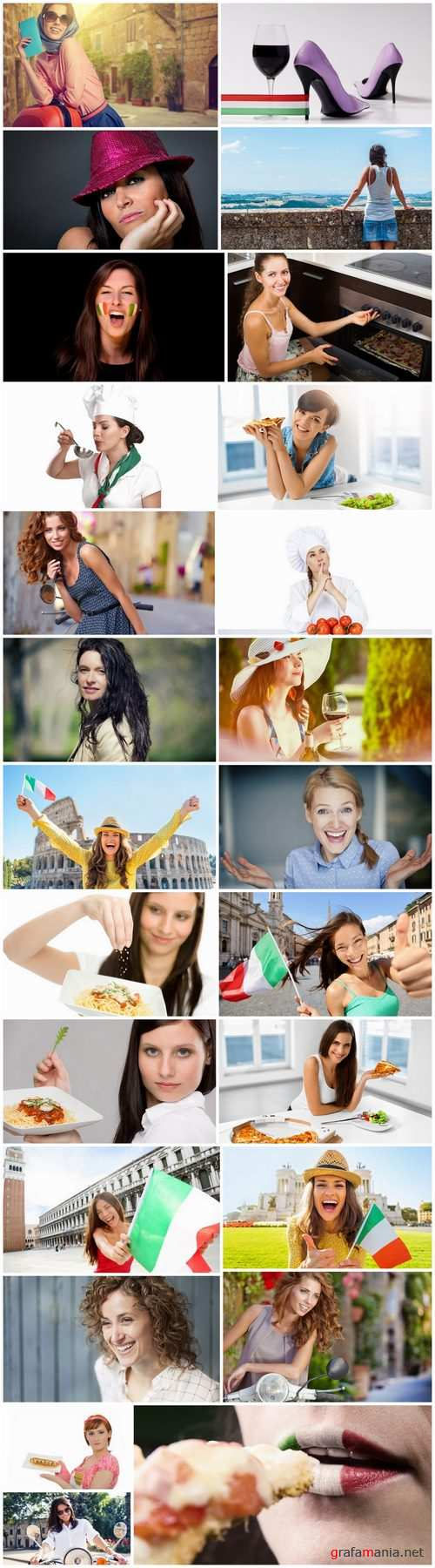 Italian girl Italian cuisine food meal national treasure 25 HQ Jpeg