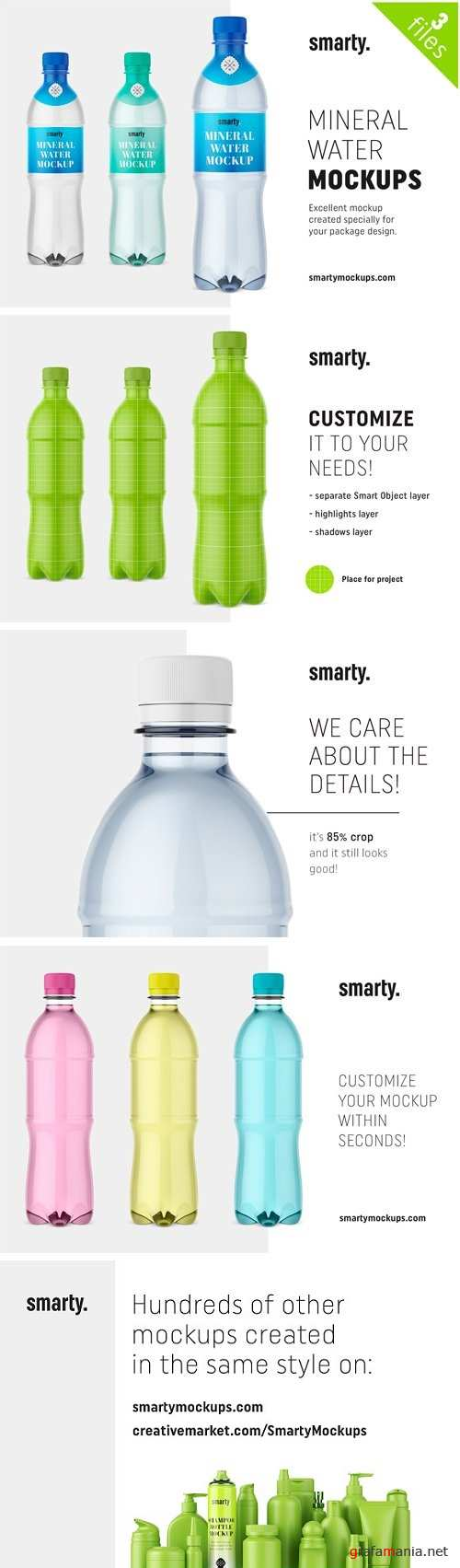 Mineral Water Bottle Mockups 2448943