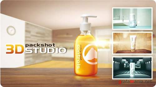 3D Packshot Studio - After Effects Project (Videohive)
