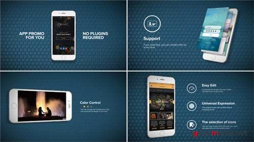 App Promo - After Effects Project (Videohive)
