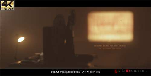 Vintage Memories - Film Projector - After Effects Project (Videohive)