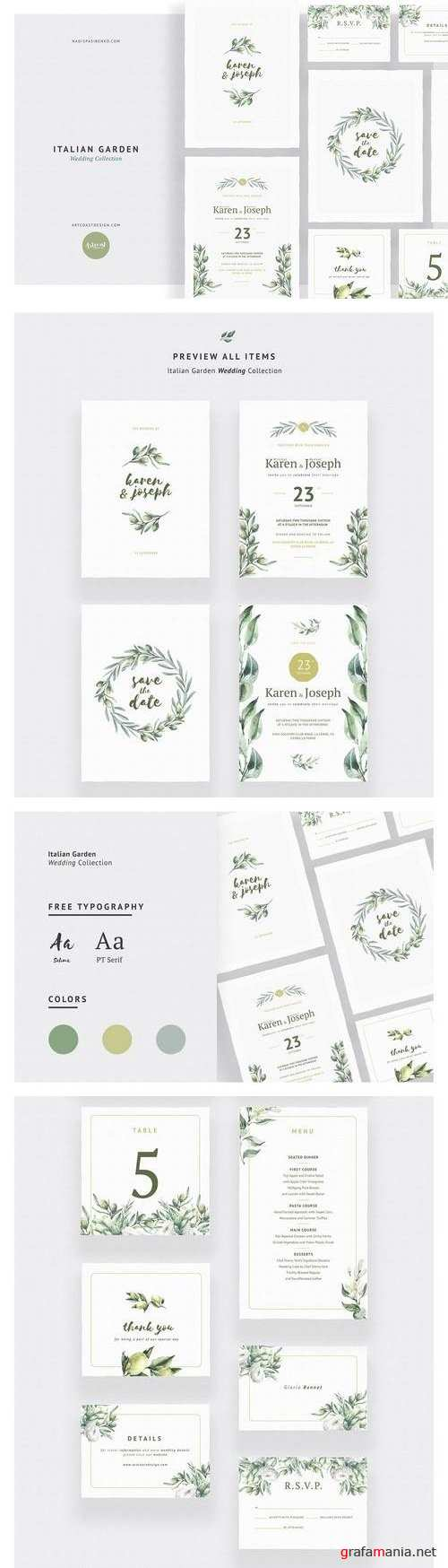 Italian Garden Wedding Collection - 2339226