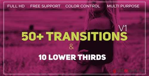 Transitions 21450502 - After Effects Project (Videohive)