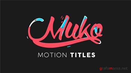 Motion Titles Animated - After Effects Project (Videohive)