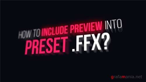 Preview Designer FFX - After Effects Scripts (Videohive)