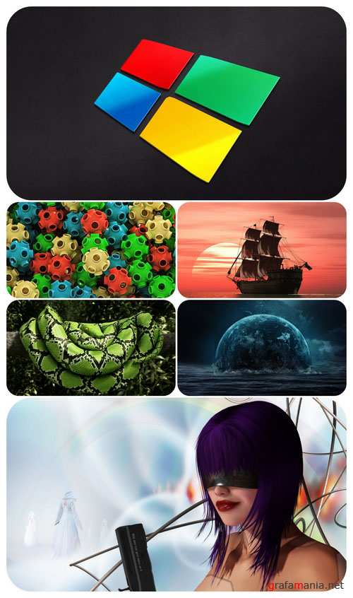 Wallpaper pack - Computer Graphics 34
