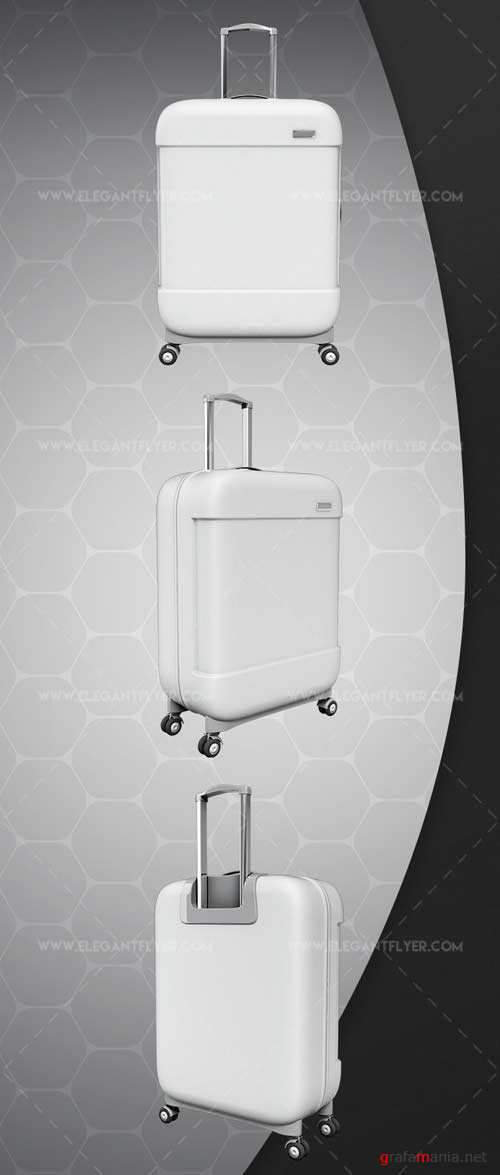 Suitcase Bag V1 2018 3d Render Templates