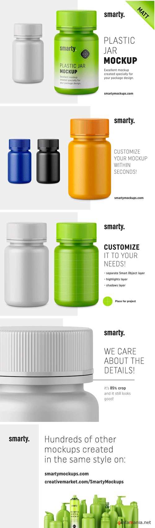 Matt Pharmacy Jar Mockup 2449133