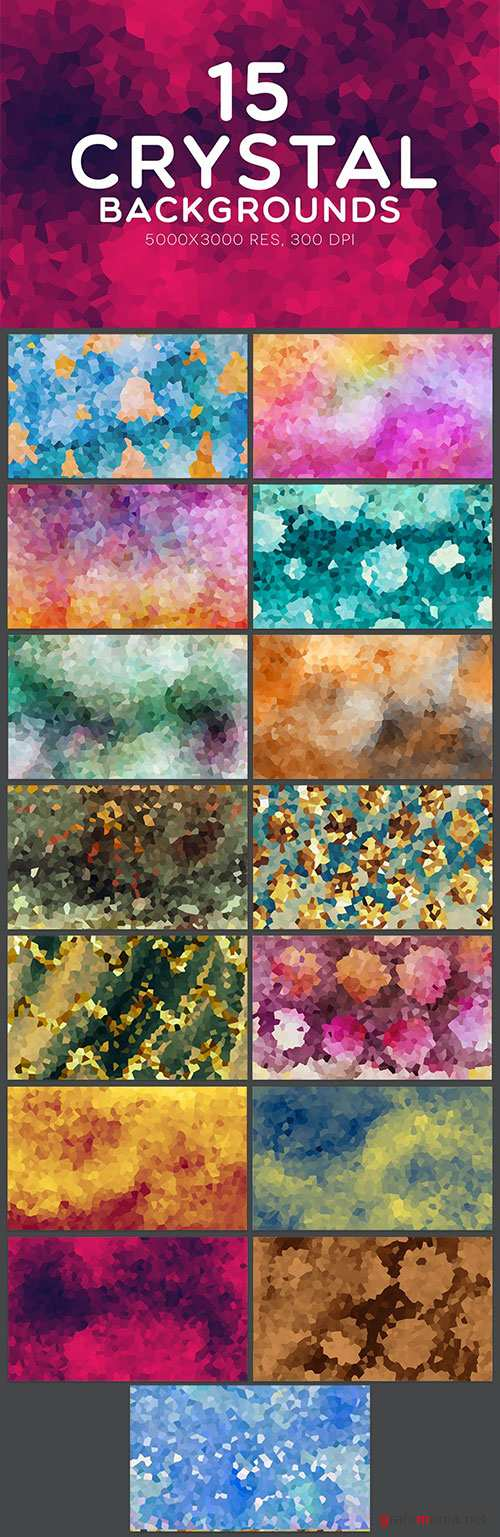 15 Crystal Backgrounds For Website Design