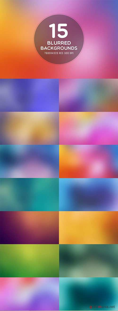 15 Blurred 8K Backgrounds For Website Or App
