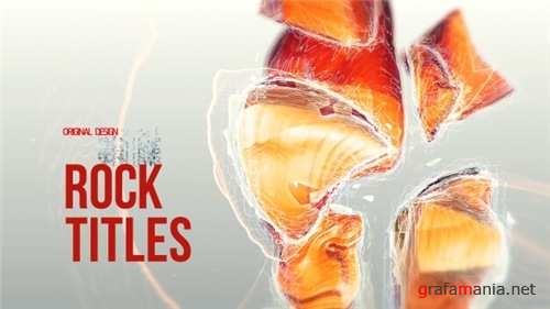 Rock Titles - After Effects Project (Videohive)