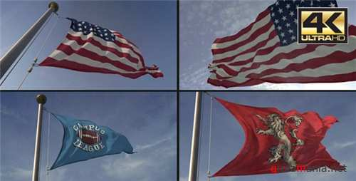 3D Flag Loop Maker - After Effects Project (Videohive)