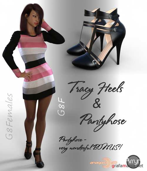 Tracy Heels and Pantyhose G8F