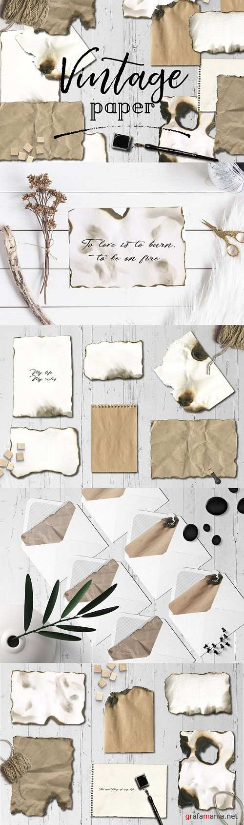 Old paper burn texture backgrounds 2457452