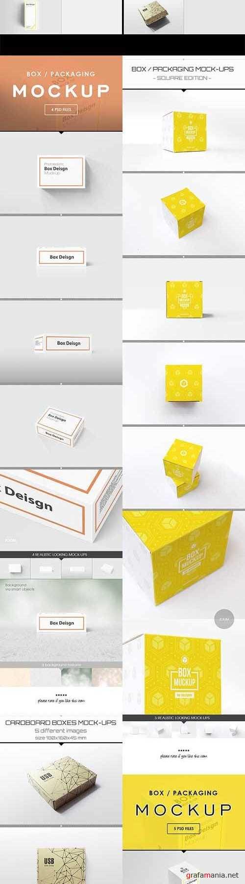 Box Mock-up 1547392