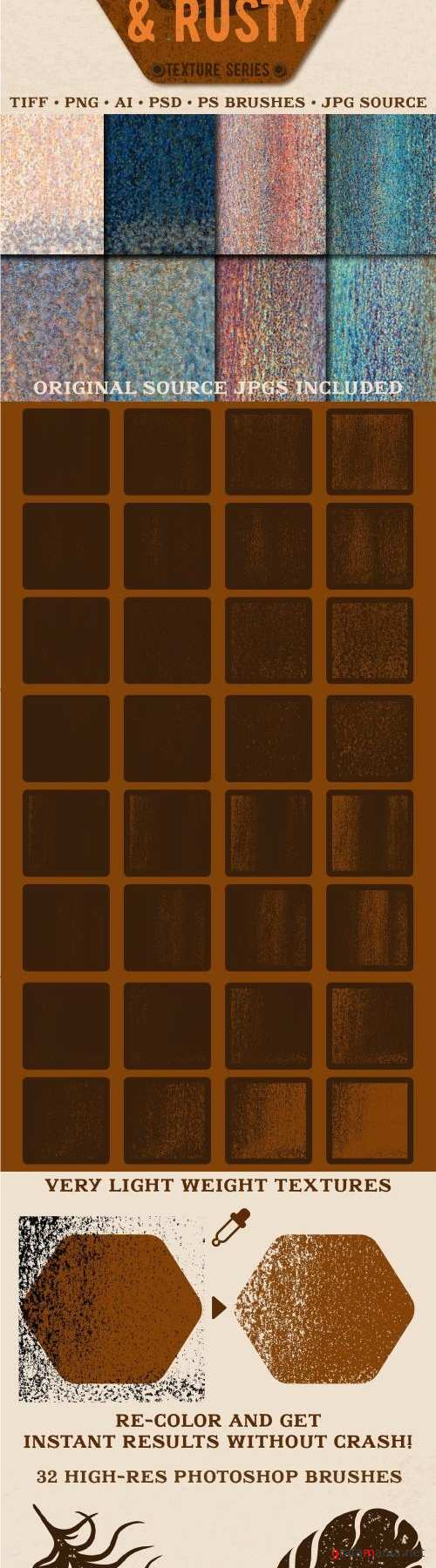 Light and Rusty Texture Pack - 2391269