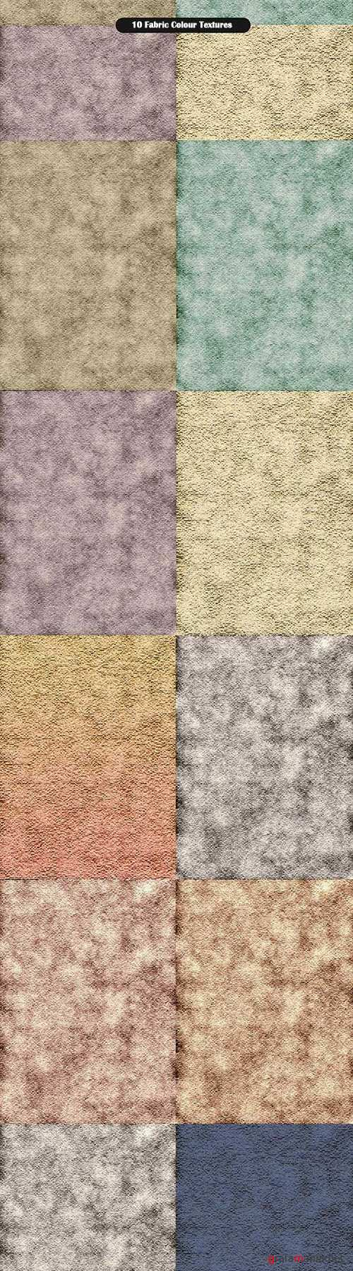 10 Fabric Colour Textures