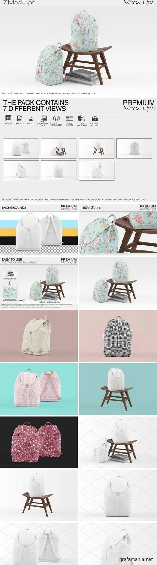 Backpack Mockups 1602352