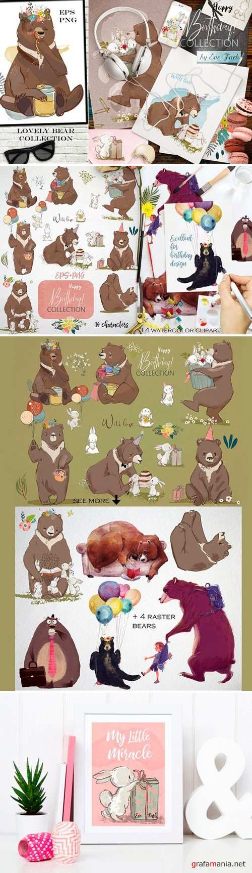 Lovely Bear Collection - 2518836