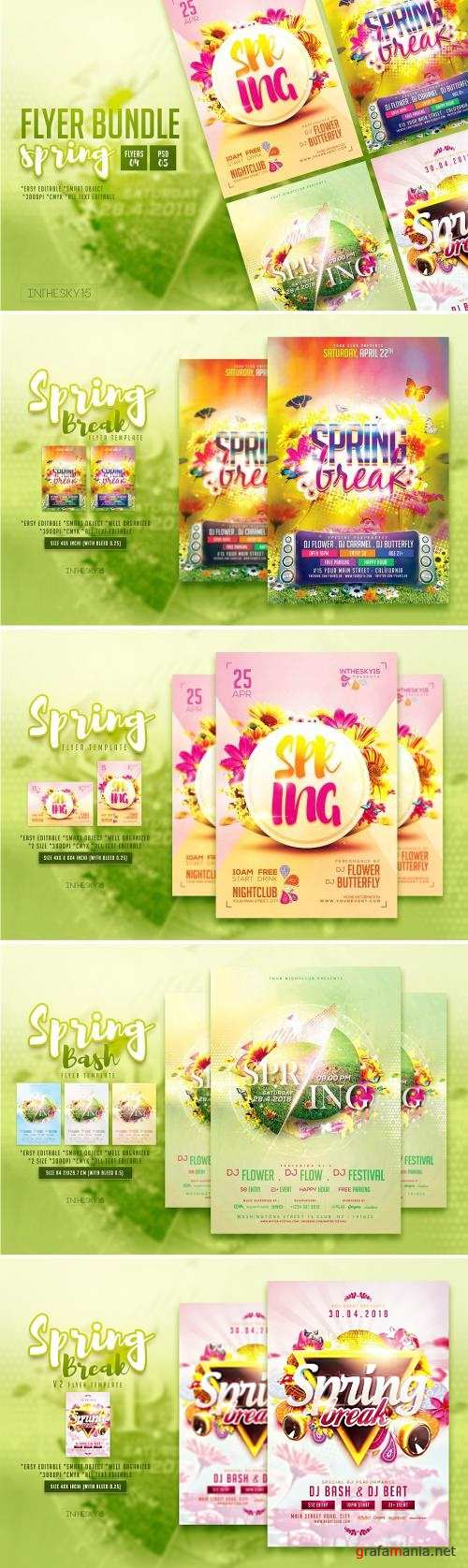 Spring Flyer Bundle - 2484965