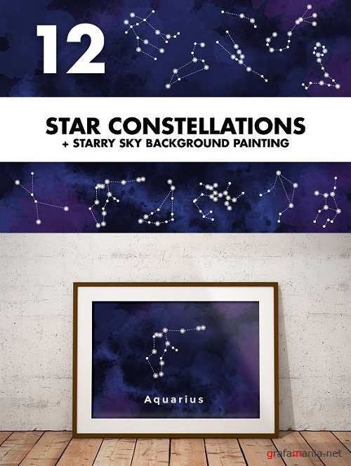 Star Constellations + Sky Painting 1171537