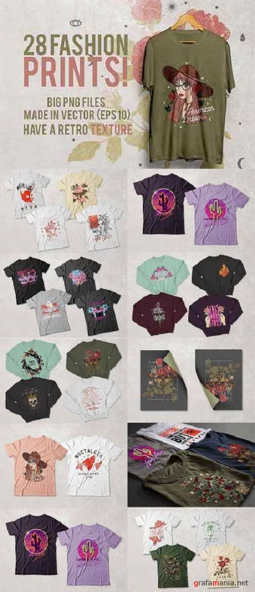 28 Fashion T-Shirt Designs 2481650
