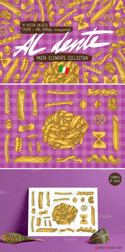 Pasta Elements Collection 2515527
