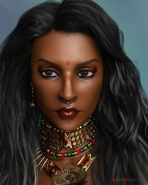 Sahana for Genesis 8 Female