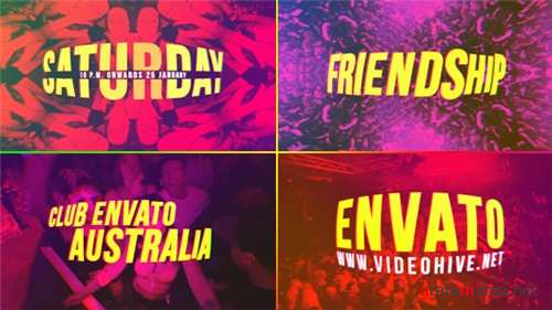 Night Club Opener - After Effects Project (Videohive)