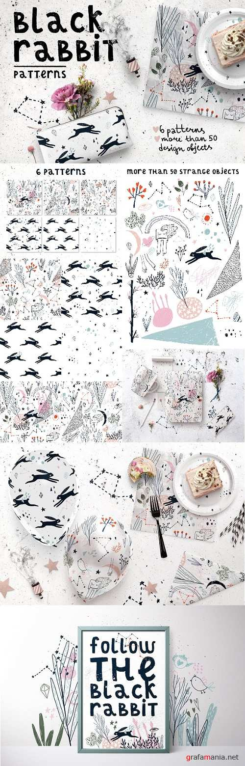 Black Rabbit | Patterns 2469744