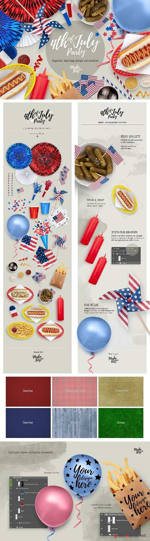 4th of July Styling Props 2661781